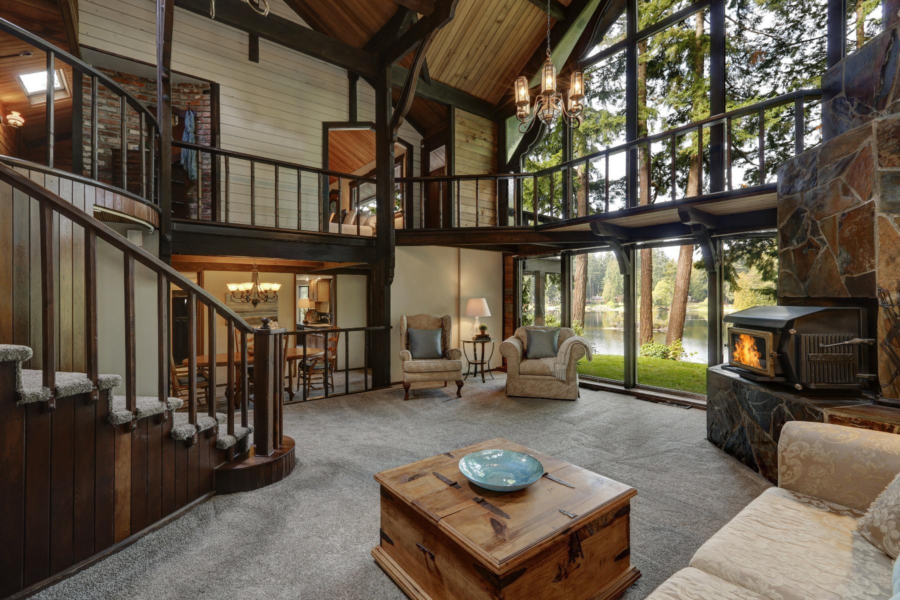Das Bild zeigt Holzmöbel im Landhausstil.