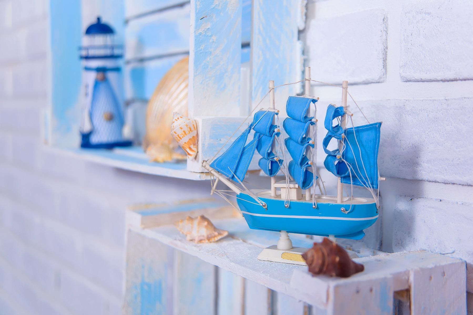 Das Bild zeigt maritime Dekoration.