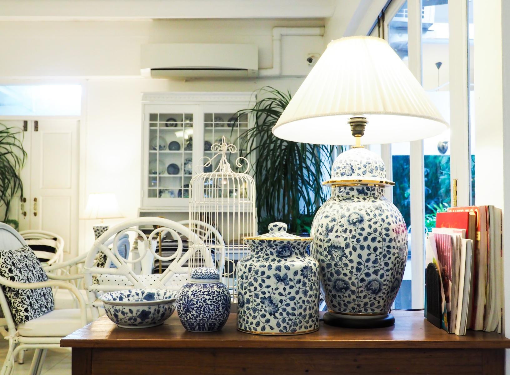 Das Bild zeigt Lampen in Shabby Chic Stil.