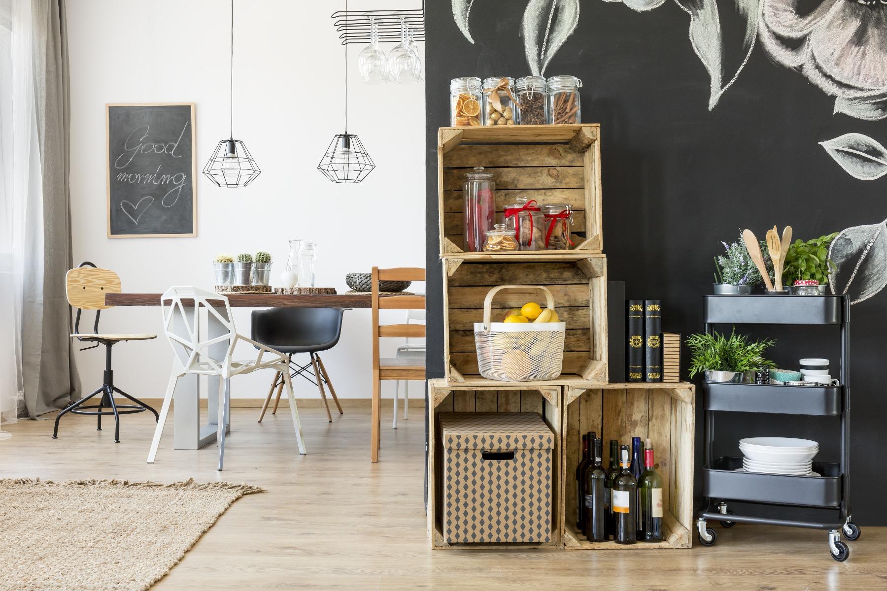 Das Bild zeigt DIY Ideen für die Küche.