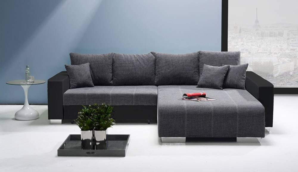 Das Bild zeigt ein Big Sofa mit Schlaffunktion.