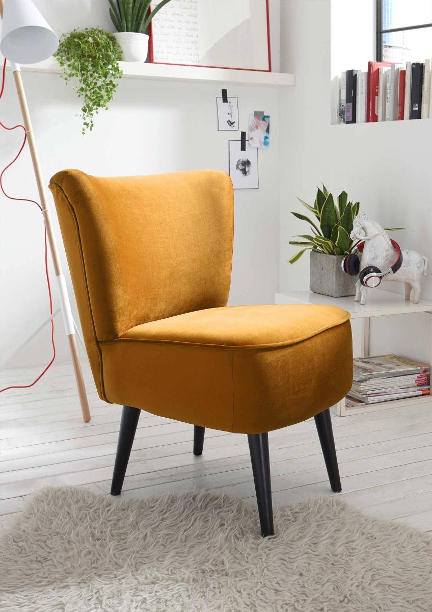Das ist ein Foto von einem Vintage Sessel.