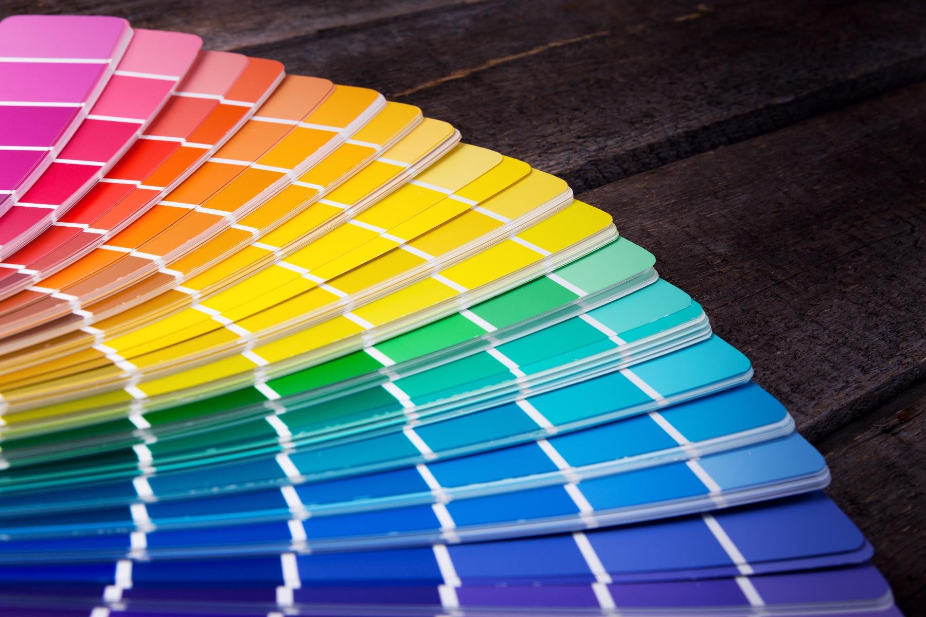 Das Bild zeigt eine Farbpalette.