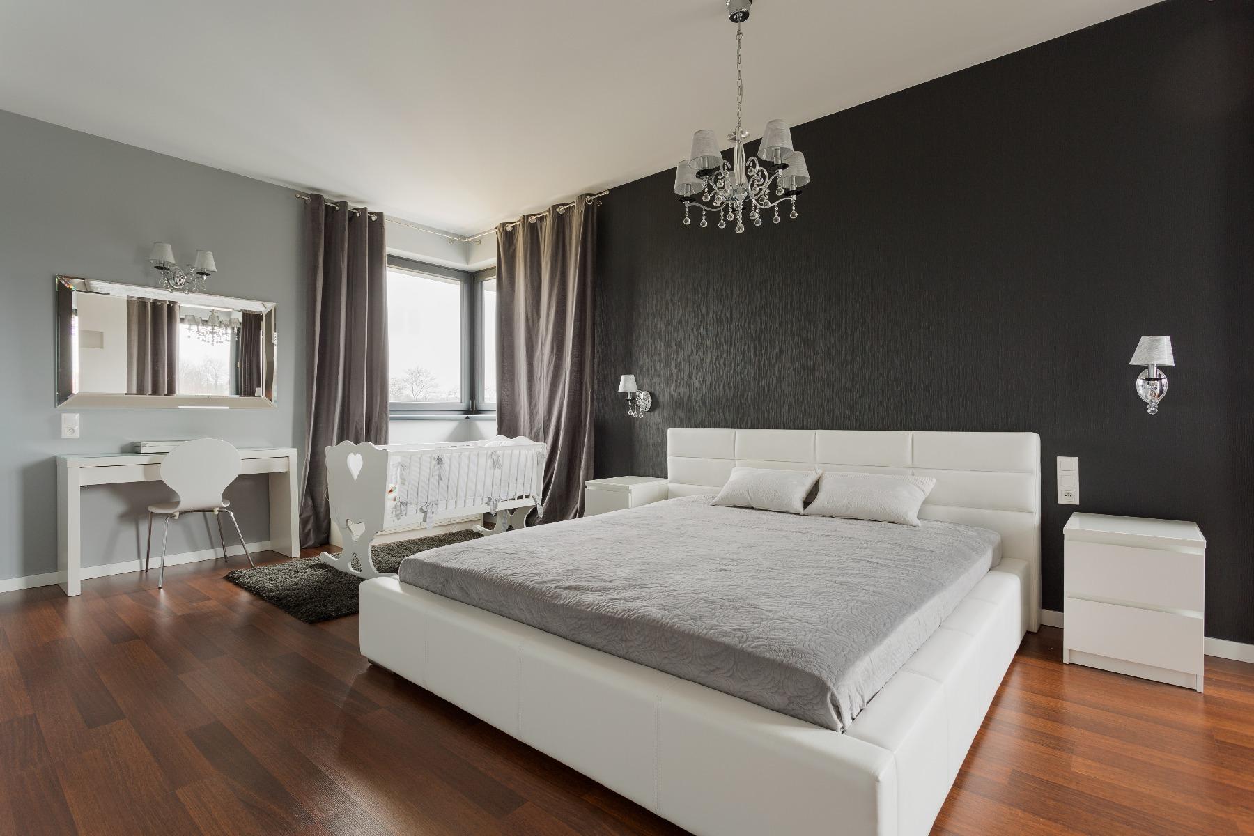 Das Bild zeigt Wohnideen für das Schlafzimmer.