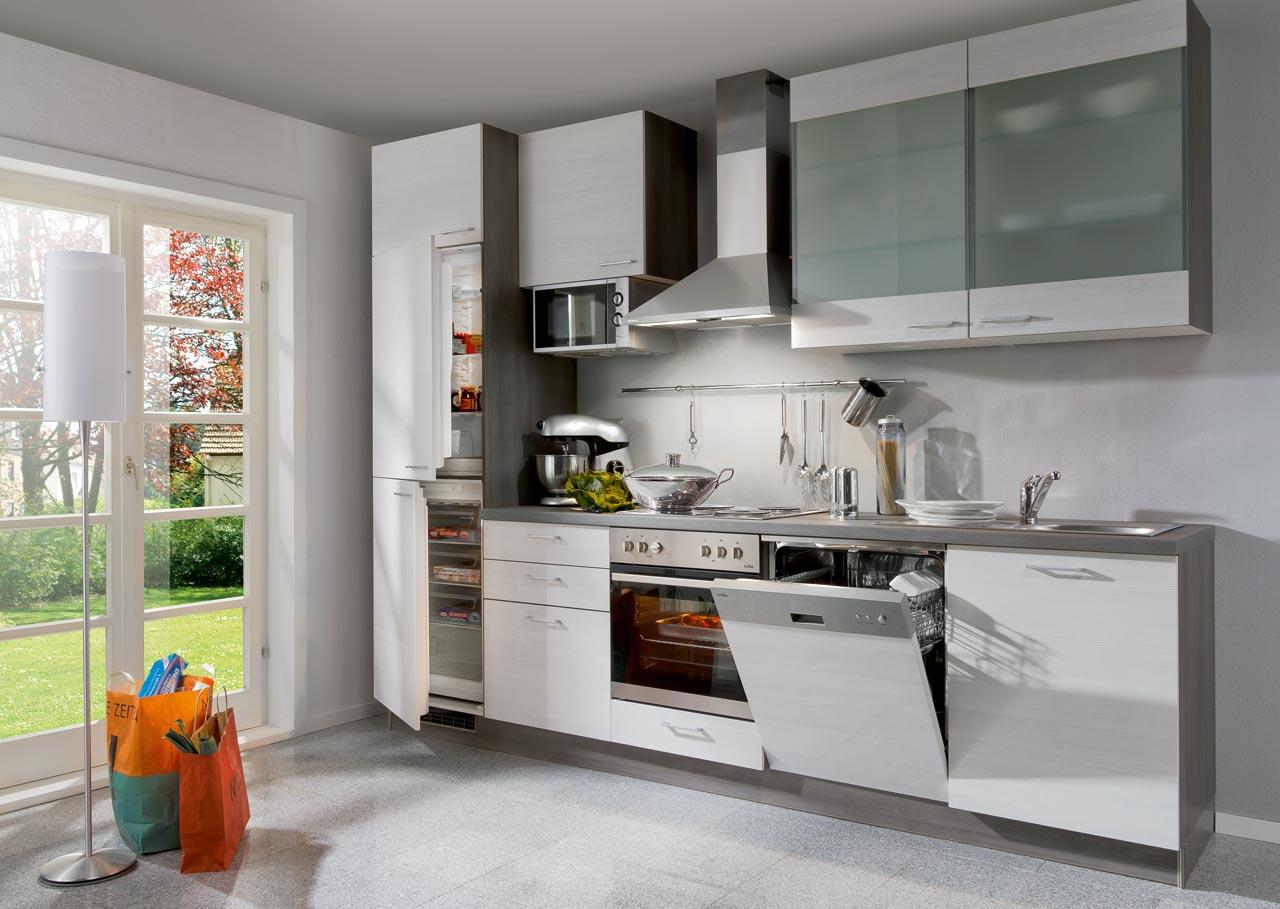 einbauk che mit elektroger ten k chenzeile k chenblock 300. Black Bedroom Furniture Sets. Home Design Ideas