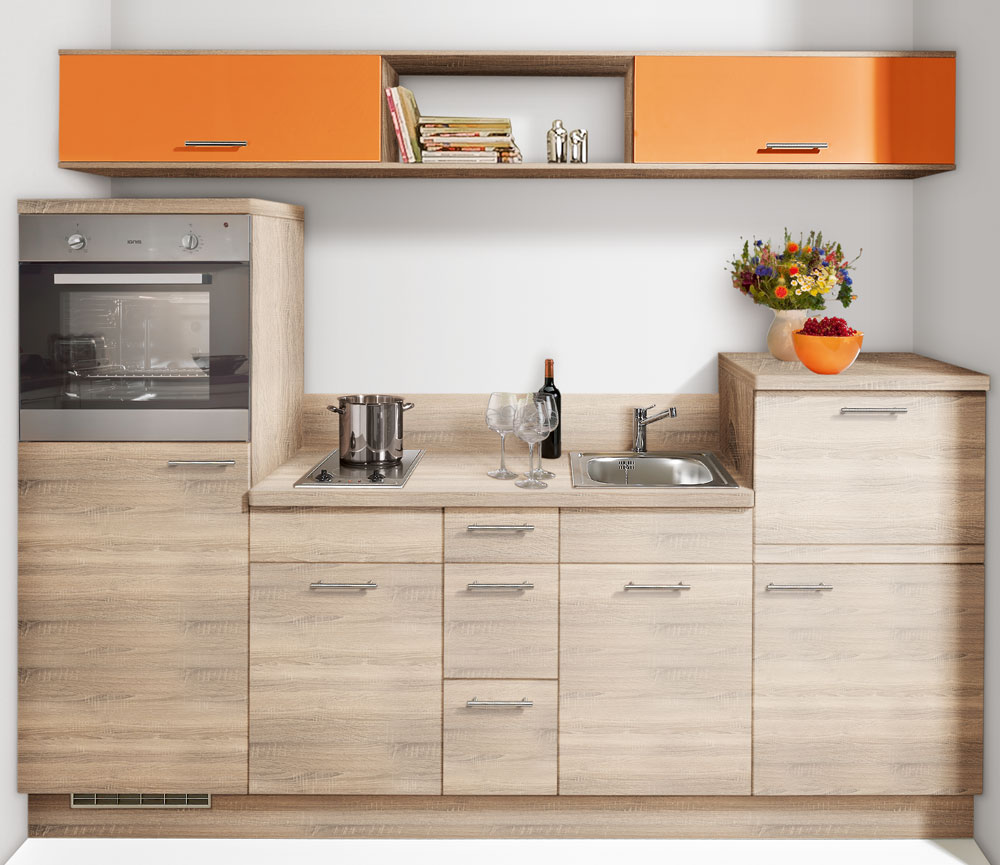 singlek che minik che k chenzeile k chenblock mit. Black Bedroom Furniture Sets. Home Design Ideas