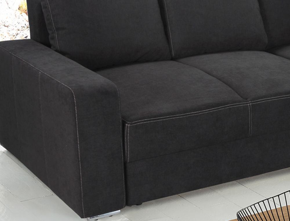 ecksofa mit schlaffunktion dauerschlafsofa eckcouch sofa l. Black Bedroom Furniture Sets. Home Design Ideas