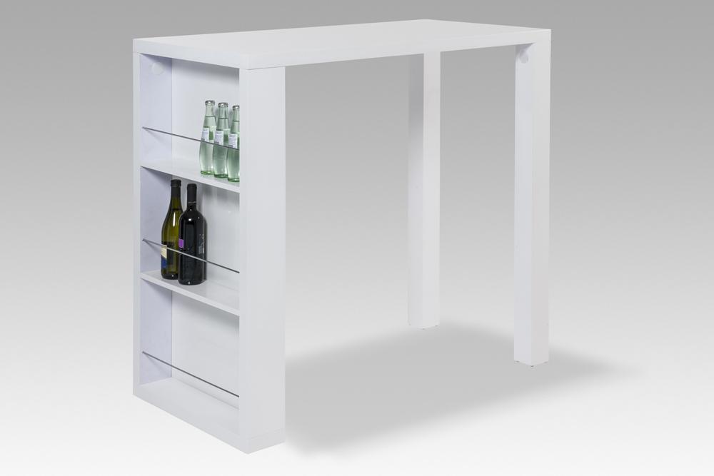 Bartisch Tresen Bartresen Tisch Bar Hochglanz Lack Weiß Neu 22509 Ebay