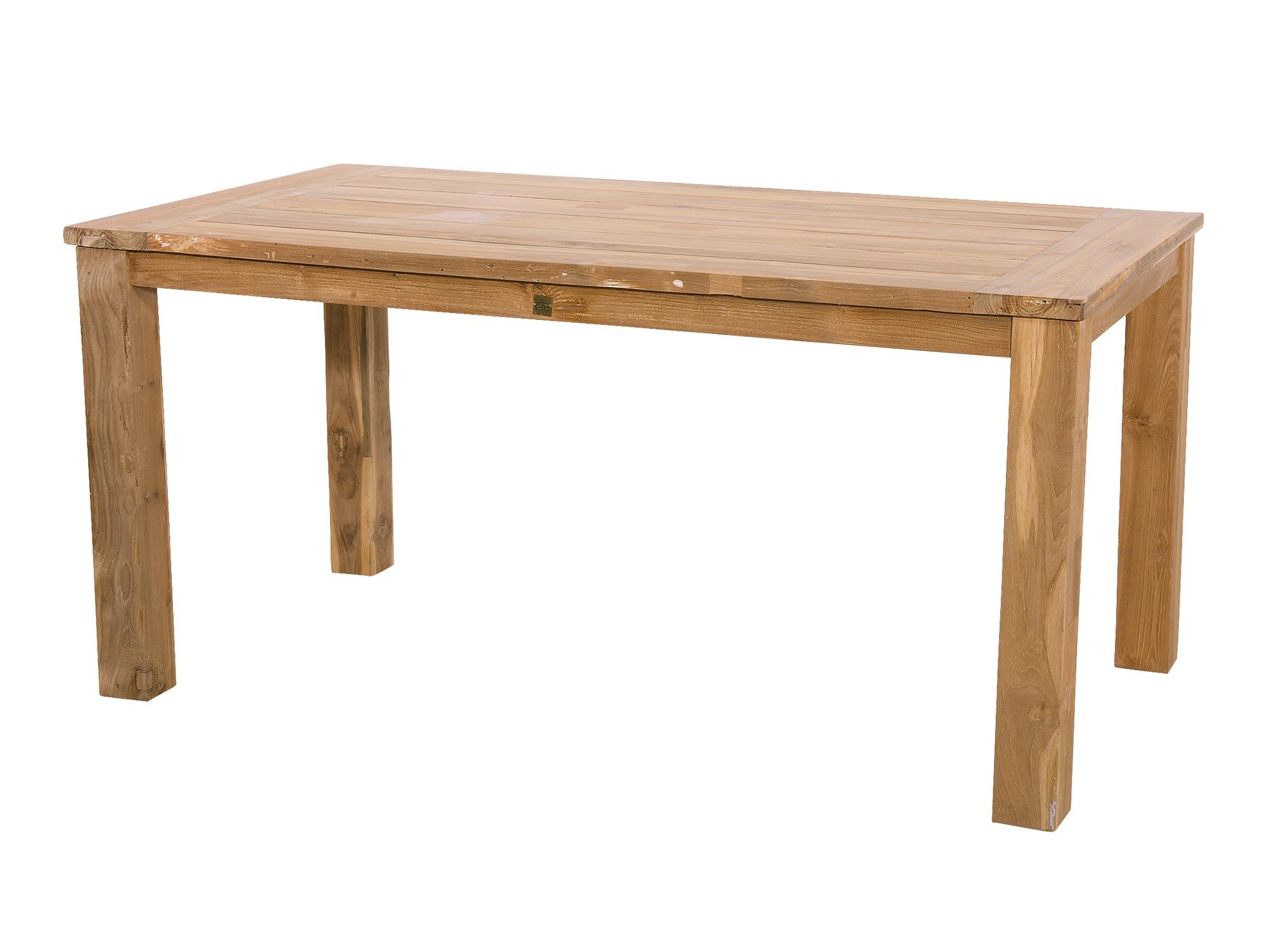 Lifestyle4Living Gartentisch aus recyceltem Teakholz, Maße: B/H/T ca. 240/76/100 cm