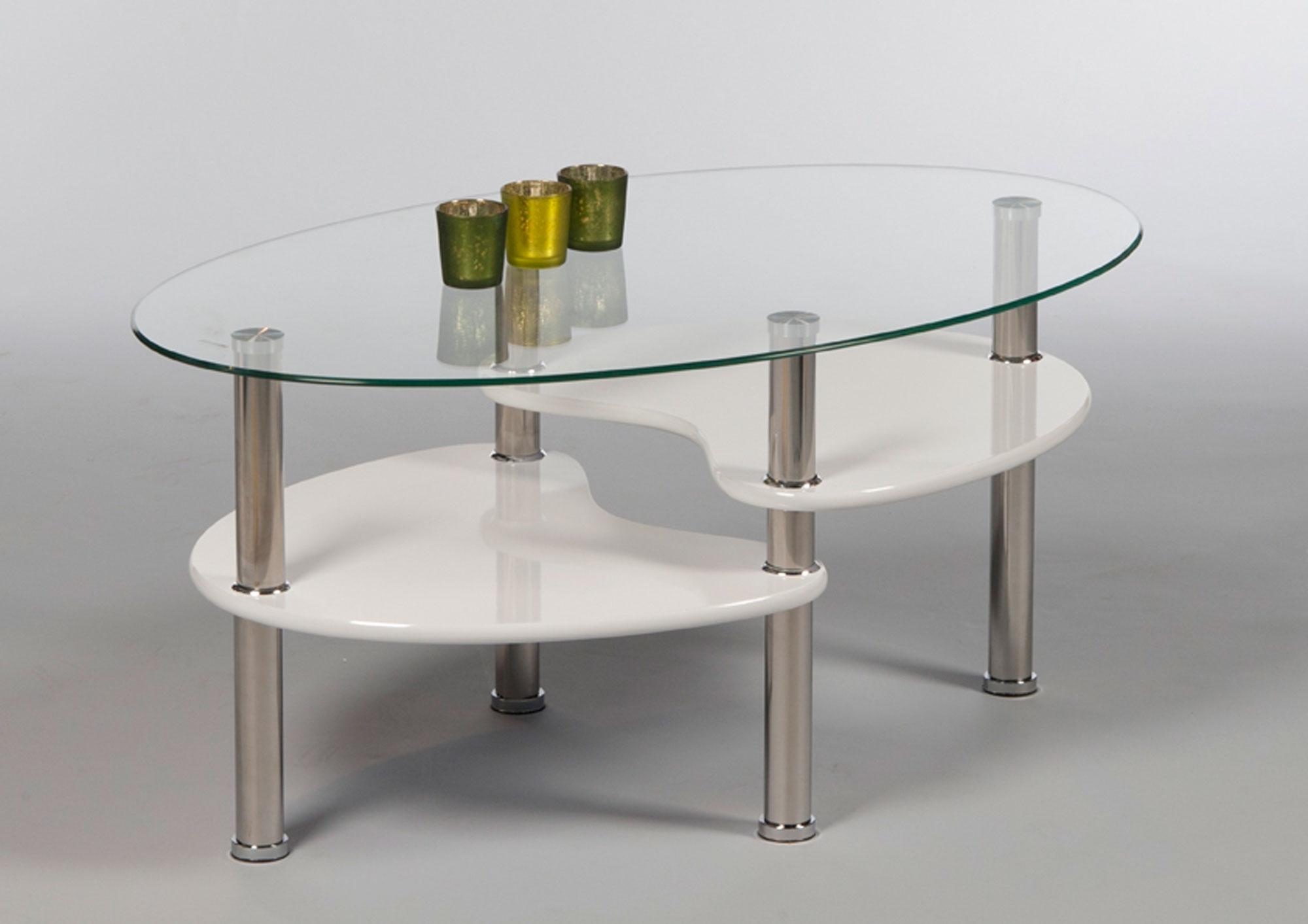 couchtisch oval glas sofatisch wohnzimmertisch glastisch. Black Bedroom Furniture Sets. Home Design Ideas