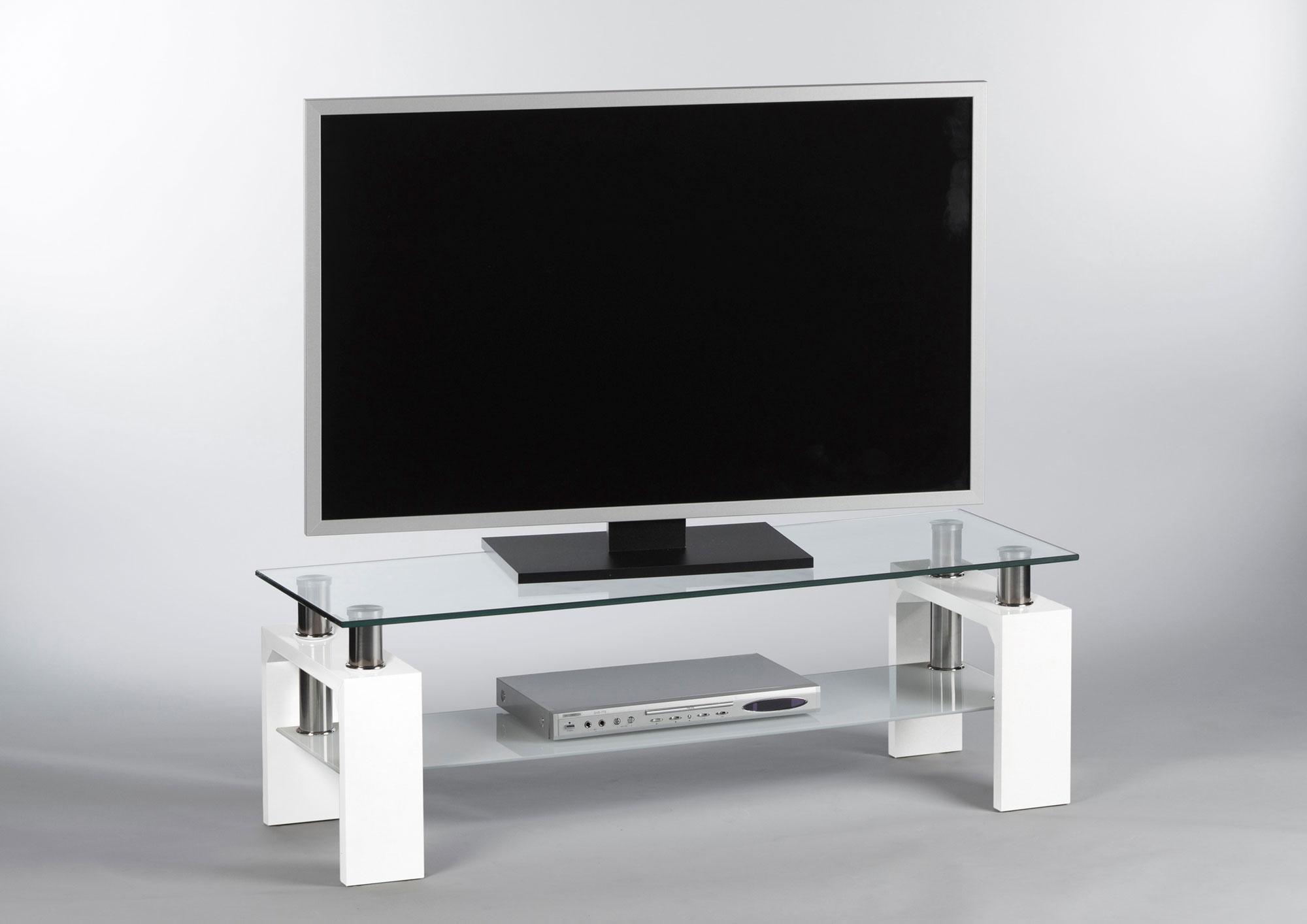 lowboard tv board fernsehschrank tv rack hochglanz wei lack glanz glas 32854 ebay. Black Bedroom Furniture Sets. Home Design Ideas