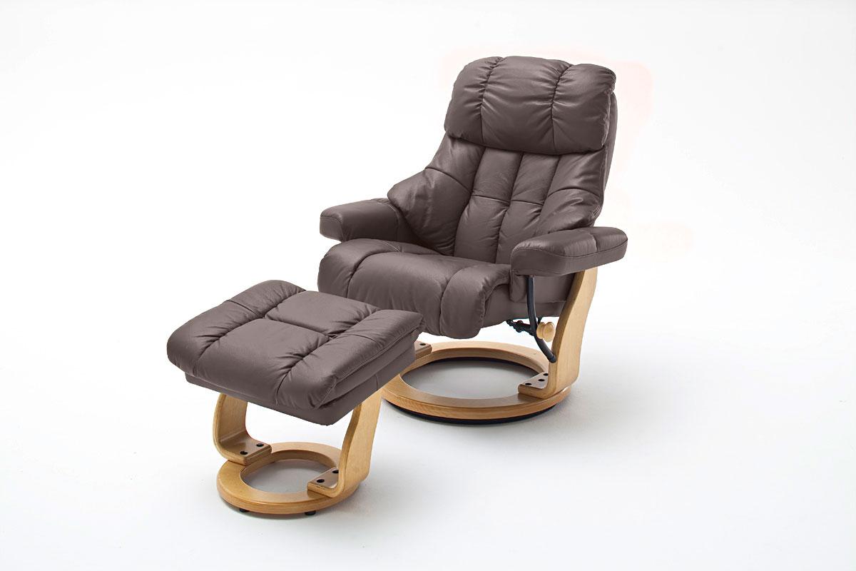 Relaxsessel Mit Hocker Fernsehsessel Leder