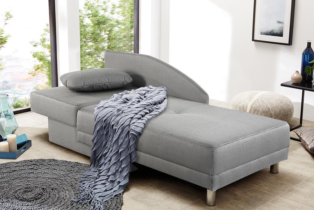 Recamiere Schlafsofa Chaiselongue Sofa mit Schlaffunktion