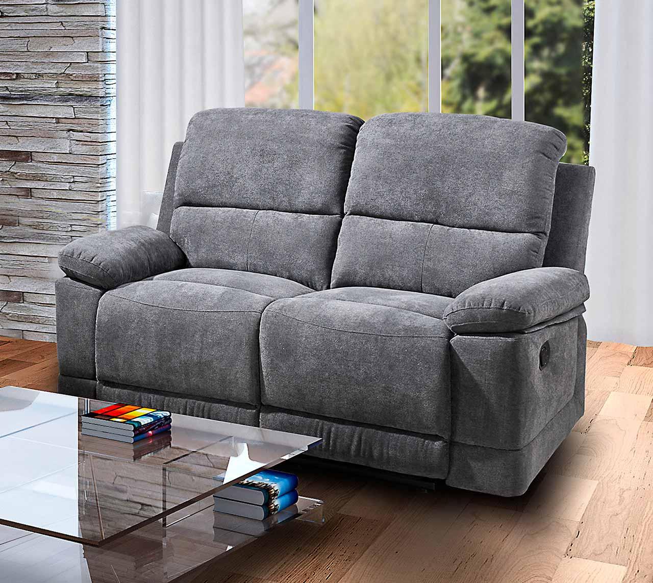 funktionssofa mit relaxfunktion klappsofa relaxsofa 2. Black Bedroom Furniture Sets. Home Design Ideas