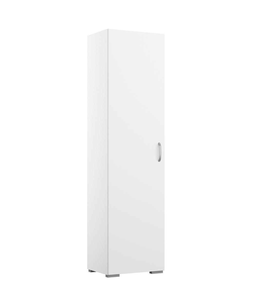 Lifestyle4Living Shuffle Hochschrank 40cm weiß